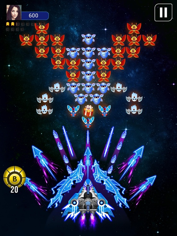 Galaxy Attack: Space Shooter screenshot 7