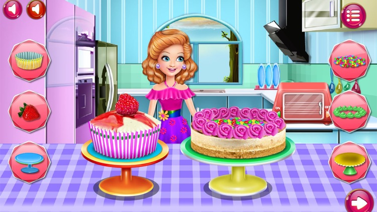 Cooking Game,Sandra's Desserts screenshot-8