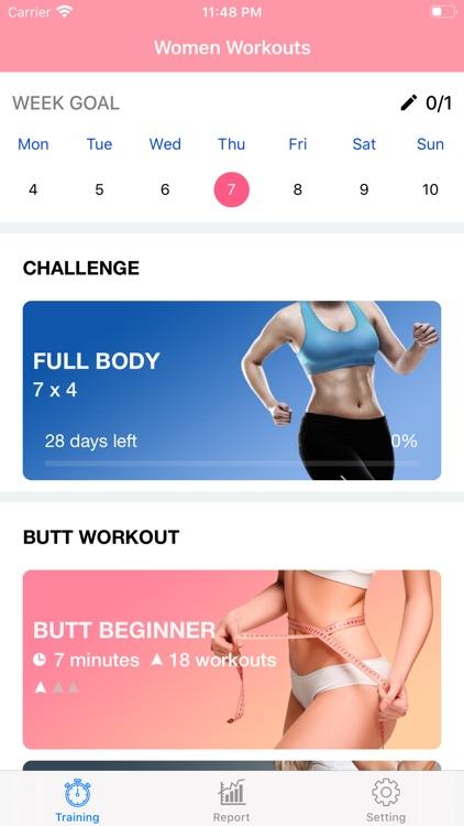 Female Fitness - Butt Workouts screenshot-3