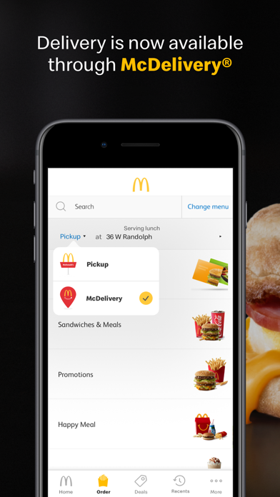 Screenshot for McDonald's in United States App Store