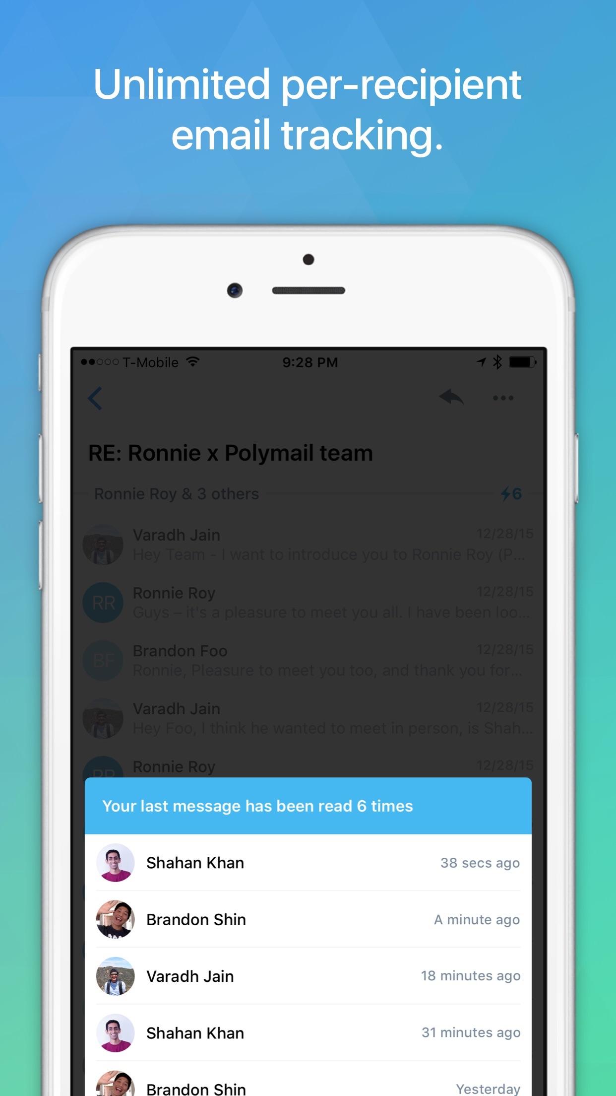 Polymail Screenshot