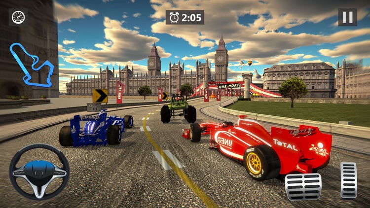 Formula Racing Car Racing Game screenshot-2
