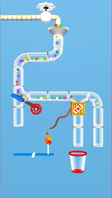 Fill a cup - brain puzzle screenshot 1