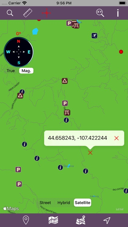 Bighorn National Forest - GPS screenshot-4