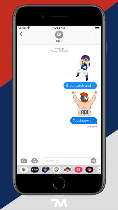 Screenshot of USA Football App