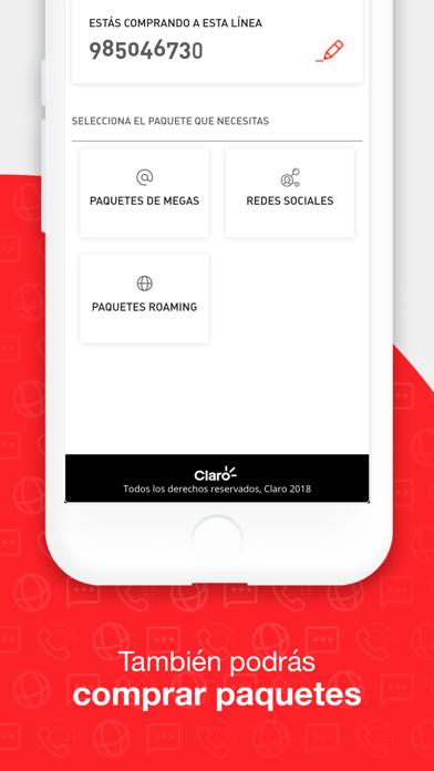 Screenshot for Mi Claro Perú in Peru App Store