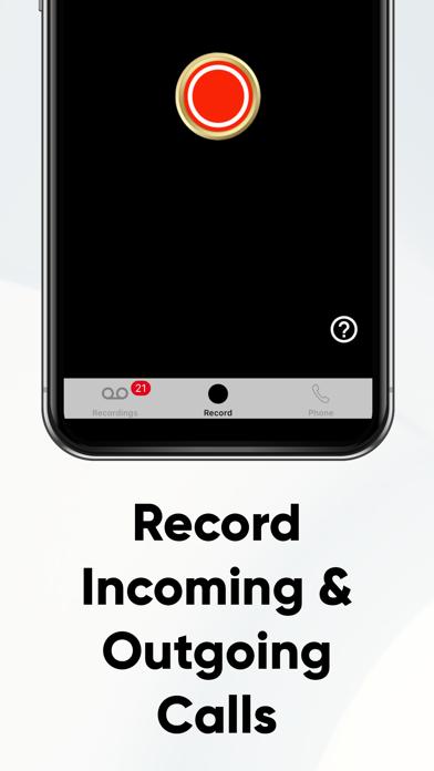 Call Recorder Recording-ReCall Screenshot