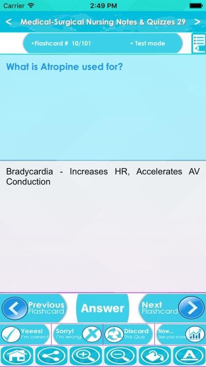 Medical Surgical Nursing Q&A screenshot-4