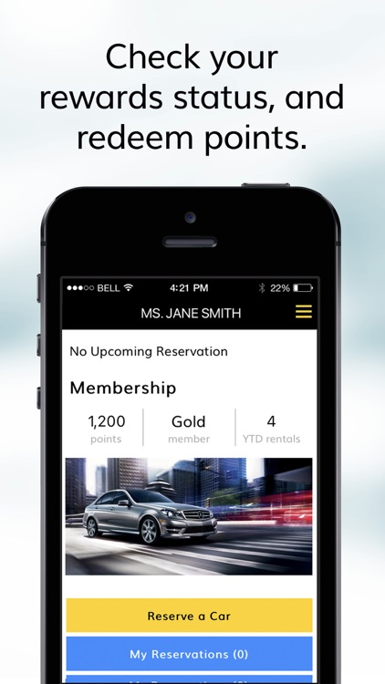 Hertz Car Rentals screenshot-1