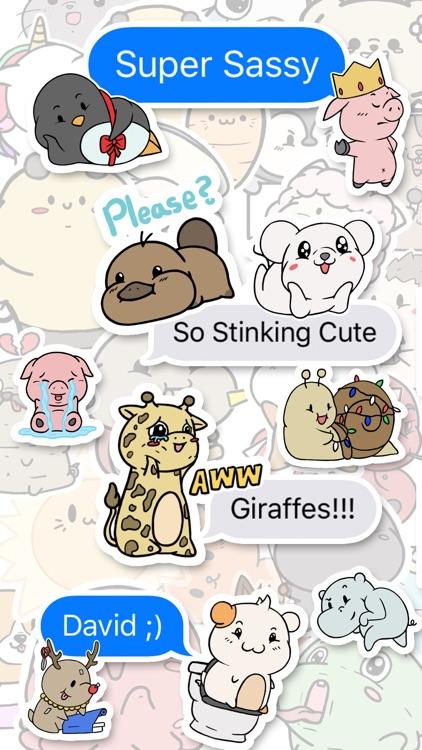 Aminal Stickers screenshot-4