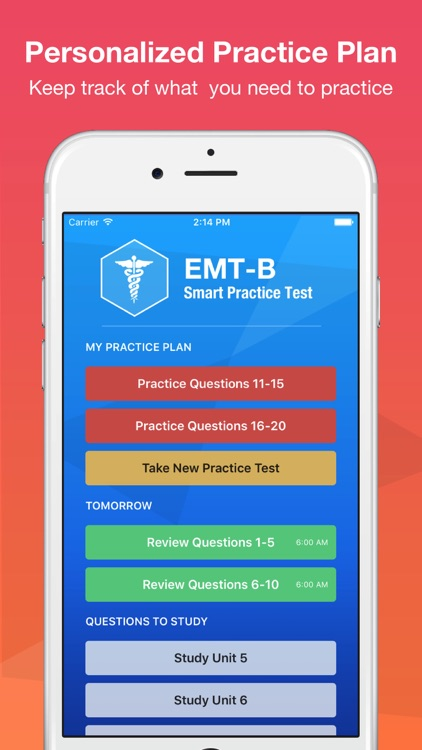 EMT Basic Exam Smart Prep screenshot-3