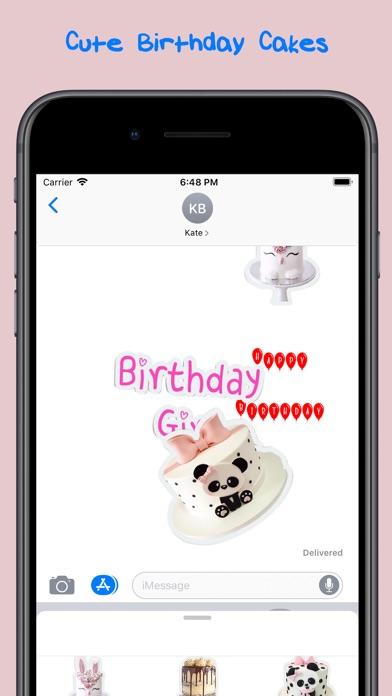 cute birthday cakes screenshot 1
