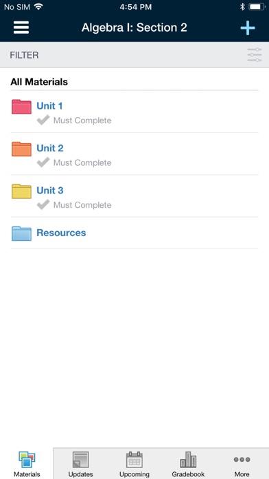 Schoology review screenshots