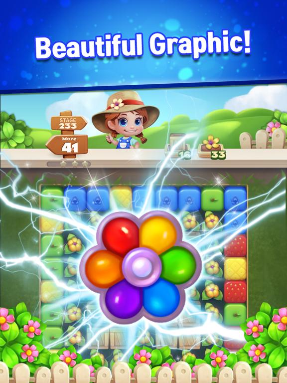 Sweet Garden Blast screenshot 2