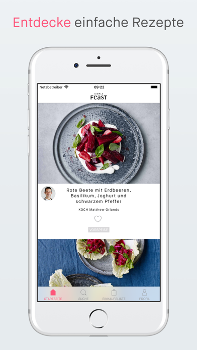 Screenshot for Simple Feast Rezepte in Germany App Store
