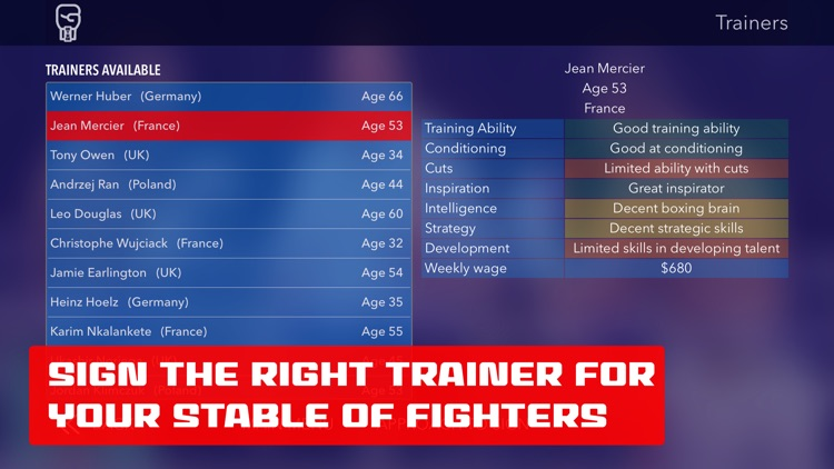 World Title Boxing Manager screenshot-3