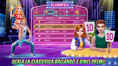 Screenshot of Scuola di ballo hip hop3