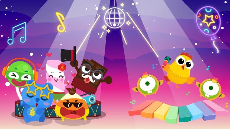 CandyBots Piano Kids Music Fun screenshot-0