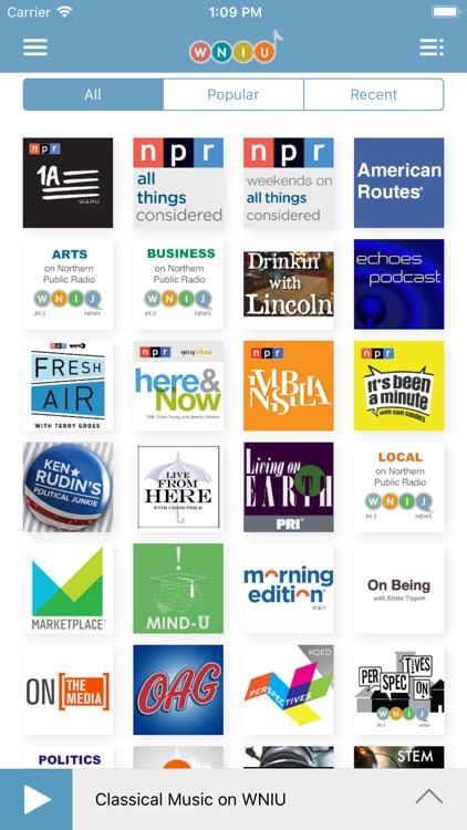 WNIU Public Radio App screenshot-4
