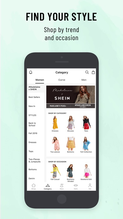 Screenshot for SHEIN-Fashion Shopping Online in Korea App Store