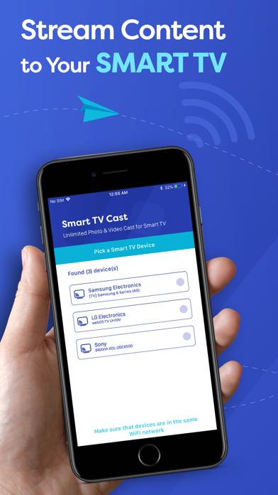 Smart TV Cast - Screen Mirror Screenshot