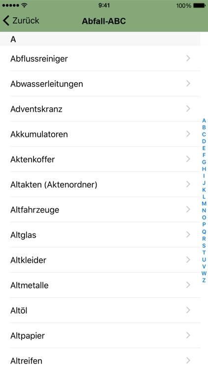 Abfall SBK screenshot-4