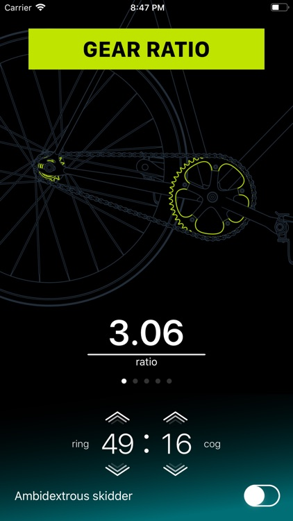 Chainring: Bicycle Gear Calc