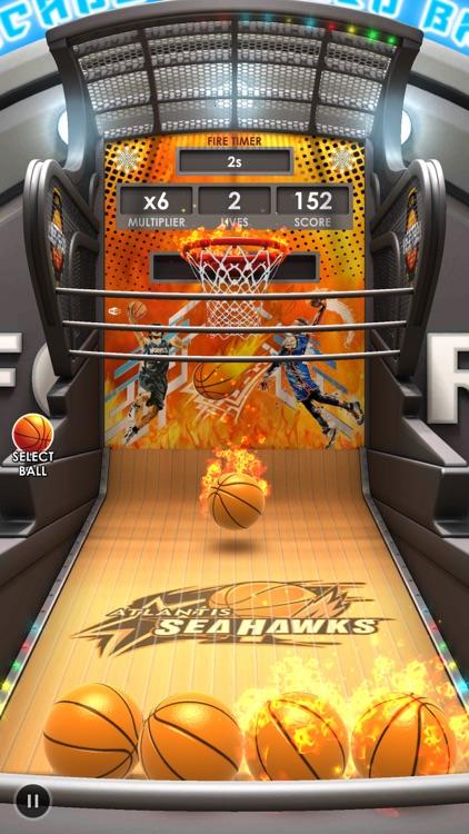 Basketball Flick 3D screenshot-3
