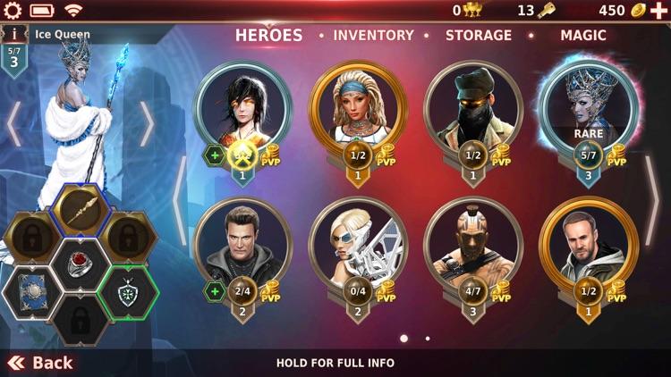 Gunspell 2- RPG Puzzle Match 3 screenshot-8