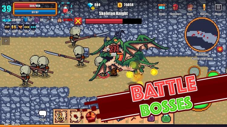 Pixel Knights Online - MMORPG