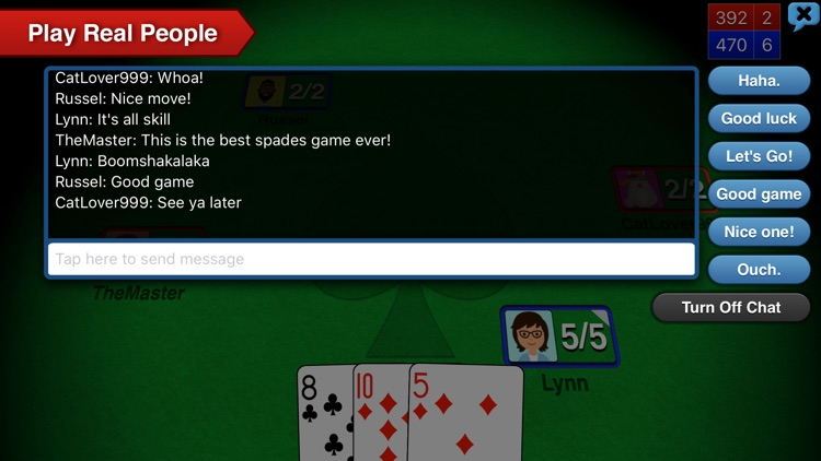 Spades++ screenshot-4