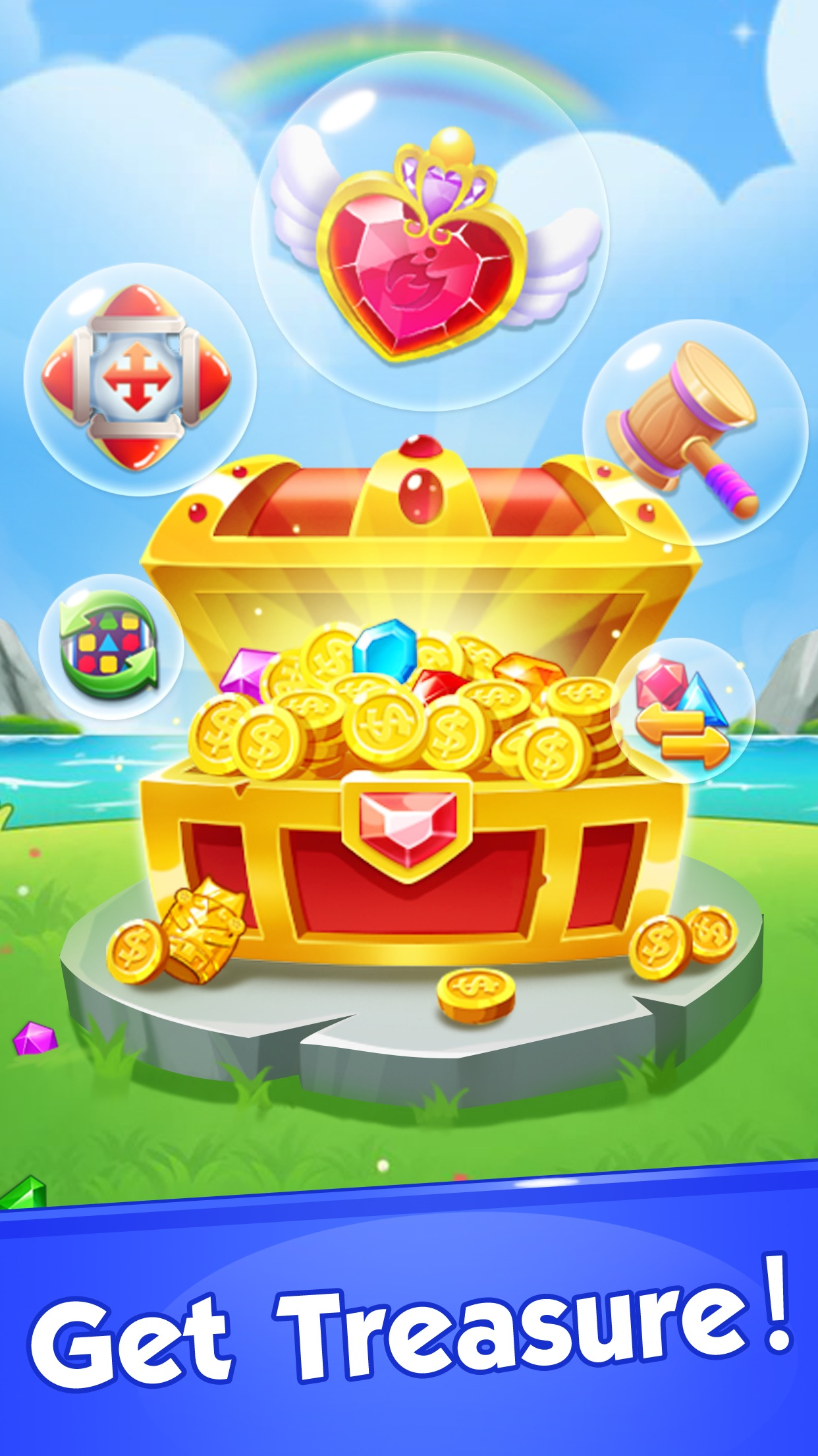 Jewel Crush®- Match 3 Games Screenshot