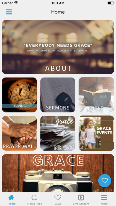 Cathedral of Grace Church App screenshot 2