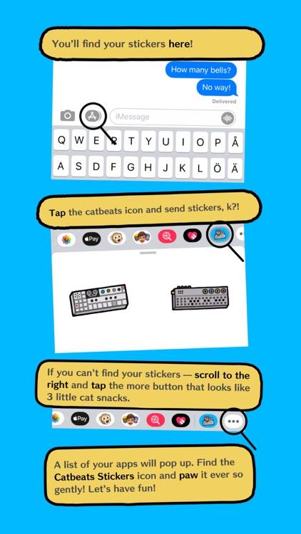 Catbeats Sticker Pack screenshot-4