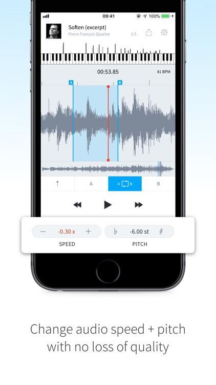 AudioStretch Lite screenshot-3