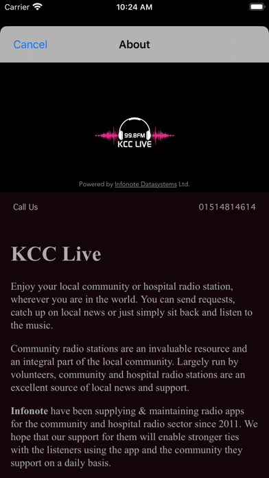 KCC Live screenshot three