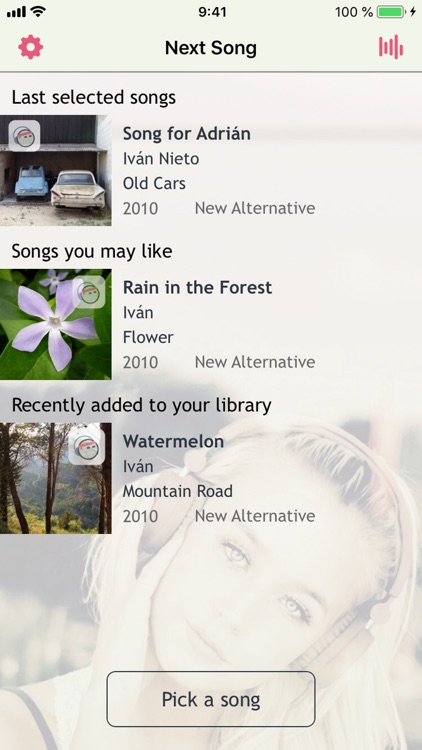 Next Song Music Player screenshot-0