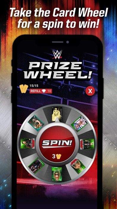 TOPPS WWE SLAM: Card Trader Screenshot
