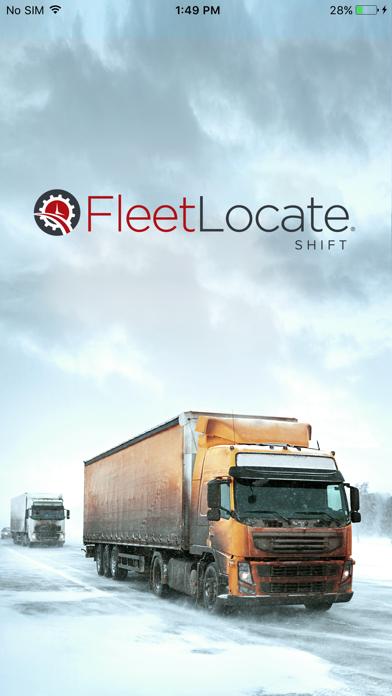 Screen Shot FleetLocate Shift 0