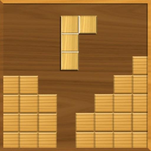 Блок головоломки дерево