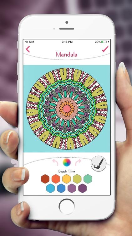 Mandala Coloring Book Pages screenshot-4