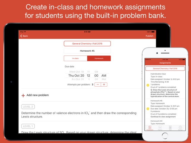 Chem101: Active Learning on the App Store