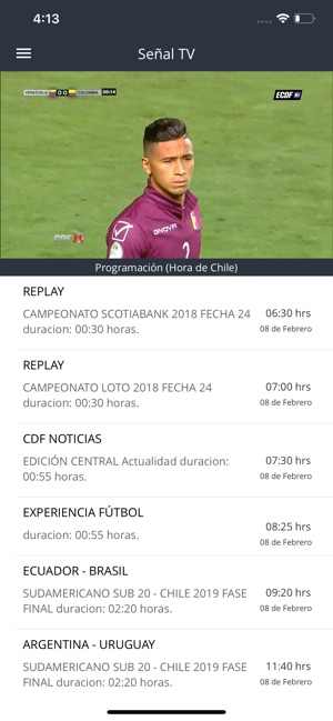 Estadio CDF Screenshot