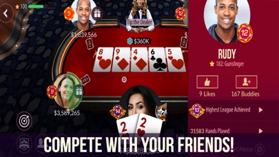 Zynga Poker - Texas Holdem Screenshot on iOS
