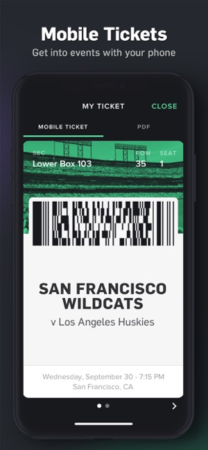 Gametime · Last Minute Tickets on the App Store