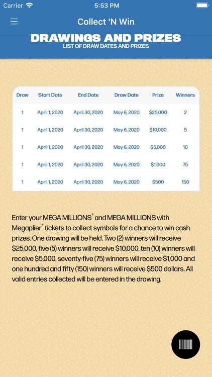 FL Lottery Collect N Win screenshot-3