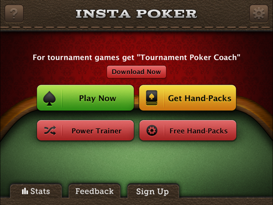 Insta Poker Coach Texas Holdem screenshot