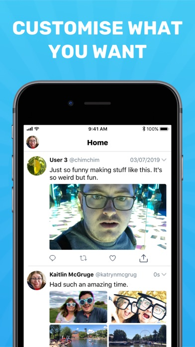 Social Dummy™ - Create Fake Social Media Posts screenshot