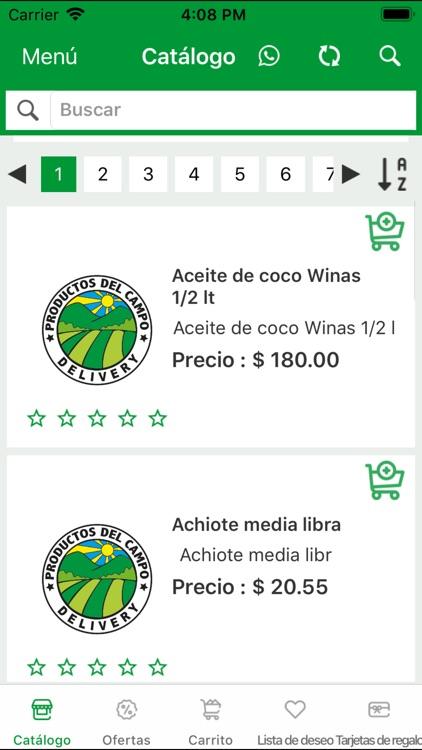 Productos del Campo Delivery screenshot-3