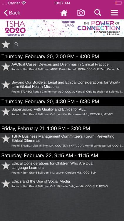 TSHA Annual Conventions screenshot-4